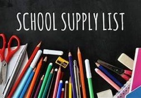 7th  Grade School Supply List