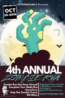 4th Annual Zombie Run Goes Vitual