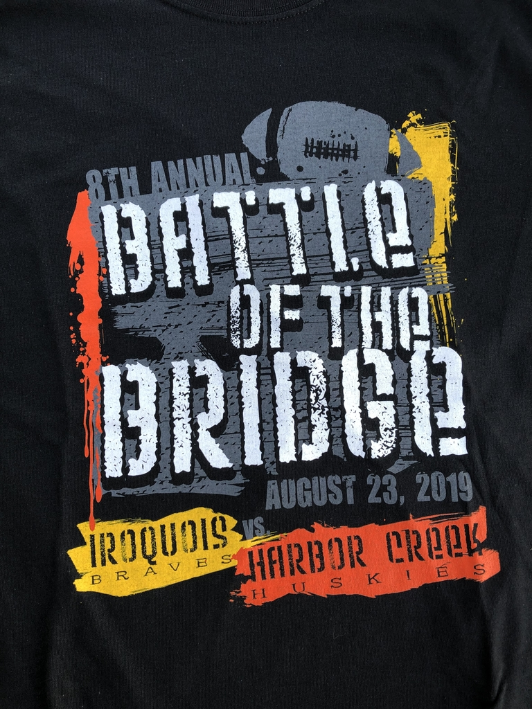 Battle of the Bridge shirts