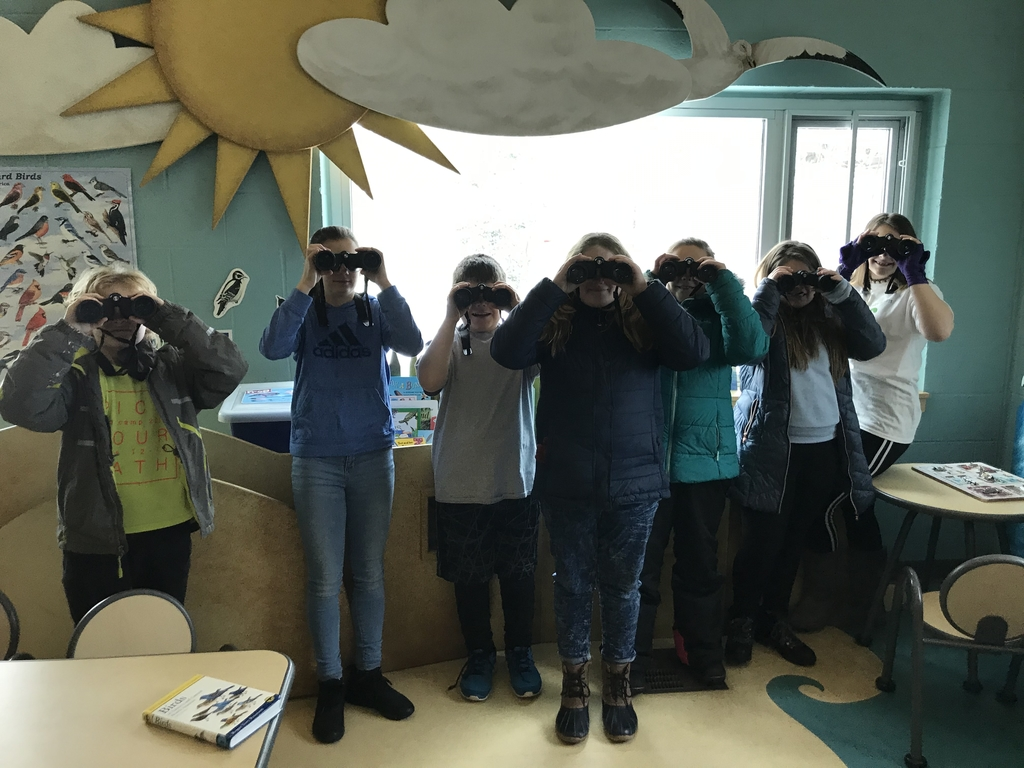 IES students learn about ornithology