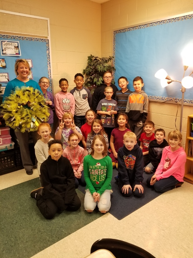 Mrs. Timon's 3rd grade homeroom