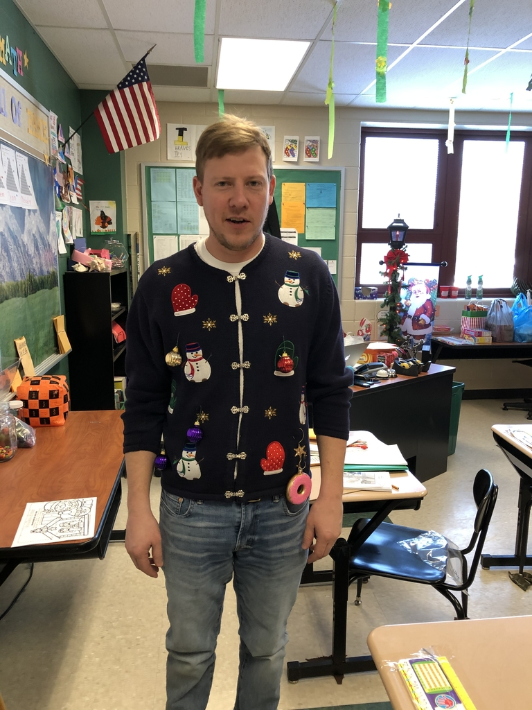 Mr. Trapp's entry in IES Christmas sweater fun.