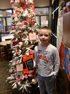 AR...1st grade Kindle Fire winner!