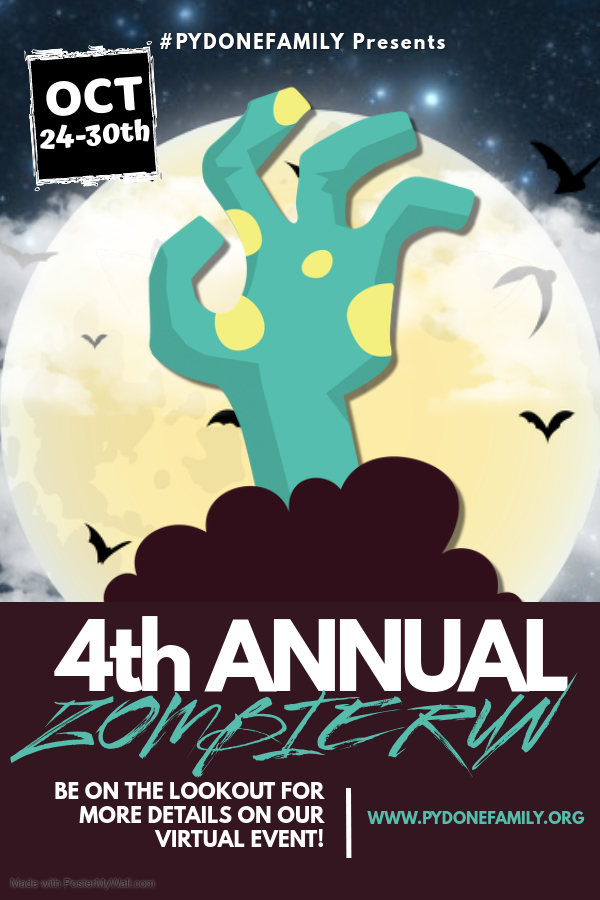 Save the date! Our 4th Annual Zombie Run will be held as a virtual event from October 24th-30th! More details to follow soon.
